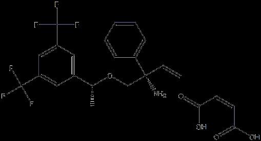 S-1-(R-1-(3,5-双(三氟甲基)苯基)乙氧基)-2-苯基丁-3-烯-2-胺马来酸